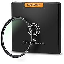 K&F Concept - 67MM Filtro de Protección Impermeable Nano-X MRC 18-Capas UV Ultravioleta para Canon EOS 1300D Nikon D3400 con Caja