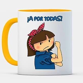 Taza cerámica ¡A POR TODAS!