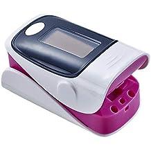 TRULIL Oxímetro Pulso Dedo Profesión Tensiómetro de Dedo Detector electrónico de frecuencia cardíaca Monitor de saturación