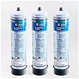 JBL ProFlora U500 Set De 3 Bouteilles Jetables De CO₂ Pour Aquariophilie 500g