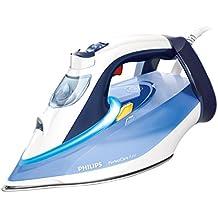 Philips PerfectCare GC4924/20 - Plancha de vapor con tecnología OptimalTemp, 2800 W, color azul
