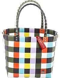 cbec934dc51d2 Ice-Bag Evergreen Original Shopper 5009 Witzgall Einkaufskorb 33x28x18cm  orange-türkis-gelb-