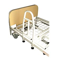 NRS Healthcare M66429 Community Bed Grab Rail Handle for Metal Profiling Beds (Eligible for VAT Relief in The UK)