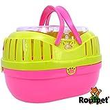 Rodipet® Transportbox 35x25x25cm grün/pink