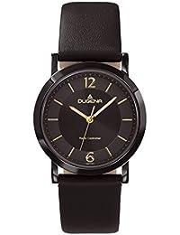 Dugena Damen-Armbanduhr Funkuhren Analog Quarz Leder 4460555