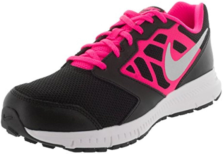 nike filles' 6 downshifter 6 gs / Noir ps chaussures Noir / , rose et blanc, taille 3 5b0130