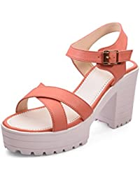 Meriggiare Women Synthetic Peach Heels