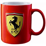 Ferrari Mug Tasse Rouge Scuderia SF LOGO