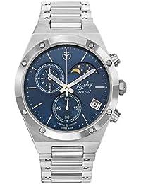 Mathey-Tissot Analog Blue Dial Men's Watch-H680CHABU