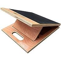 BodyKore 3-in-1 Schrägbrett aus Holz, 35 cm breit (groß), für Reha, erste Dehnungsübungen, Wade