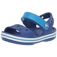 Crocs Kids' Crocband Sandal, Blue (Cerulean Blue/Ocean), 13 UK Child