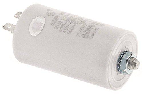 Condensateur de fonctionnement pour lave-vaisselle Electrolux, hoonved, colged, ambach, comenda
