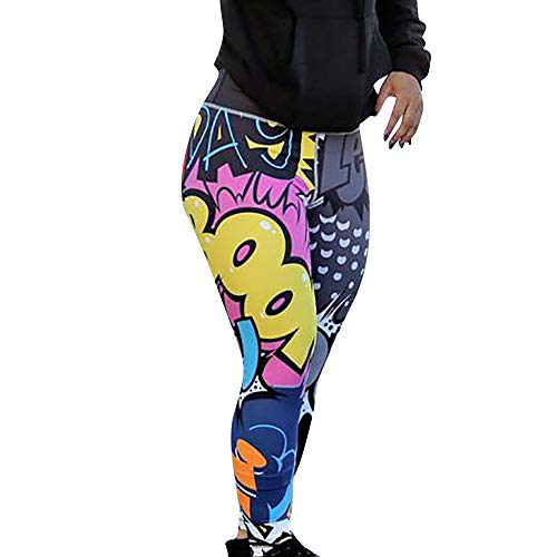 Leggins Deportes Mujeres Pantalones Deportes Impresión
