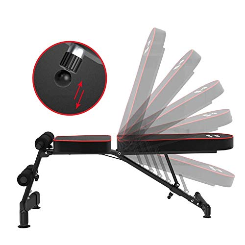 Adjustable Weight Bench For Home Gym - Utility Weight Benches For Full Body Workout, Foldable Incline/Decline Bench Press, Load 300kg