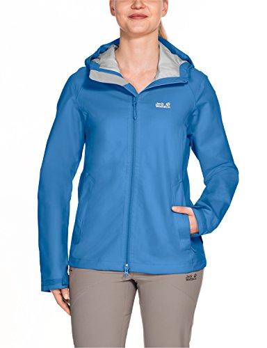 Jack Wolfskin Damen Arroyo Women Wetterschutzjacke, Wave Blue, S