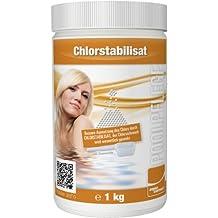 Steinbach 00-70290 - Piscina química estabilizador de cloro, aquacorrect, 1kg