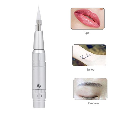 Anself Augenbrauen Tattoo Kit Permanent Augenbraue Lippe Eyeliner Tattoo Pen Maschine
