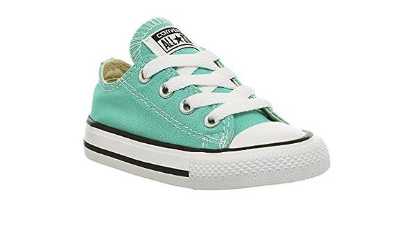 Converse , Baskets pour Fille Vert Menthe (Menta) - Vert ...