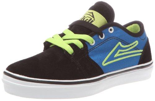 Lakai Judo, Scarpe da Skateboard unisex bambino Nero (Noir/Bleu)
