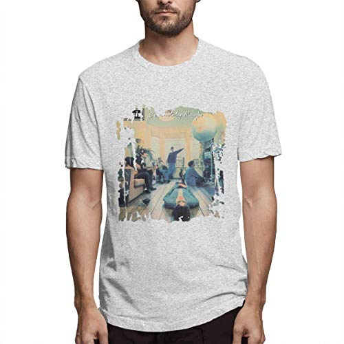Mens Oasis Definitely Maybe Album T-shirt, Grey, S to 6XL