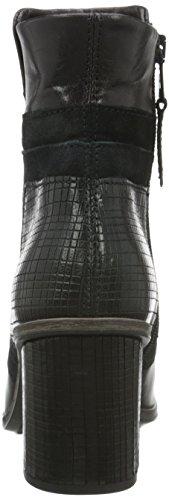 Mjus - 270204-0102-6002, Bottes Basses Avec Rembourrage Léger Femme Noir (noir (noir))
