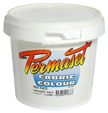 Permaset : Aqua Screenprinting Fabric : 1000ml : Print Paste (Reducer)
