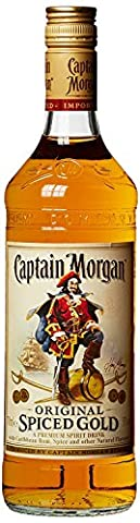 Empty Captain Morgan Bottles for Decorative Purposes, 3 Flaschen