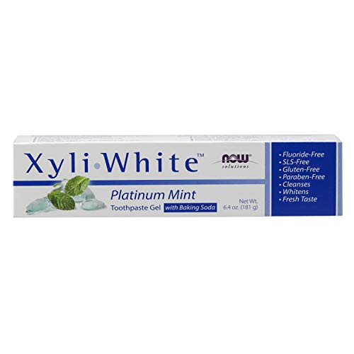 NOW Solutions Xyliwhite Platinum Mint Toothpaste w Baking Soda -