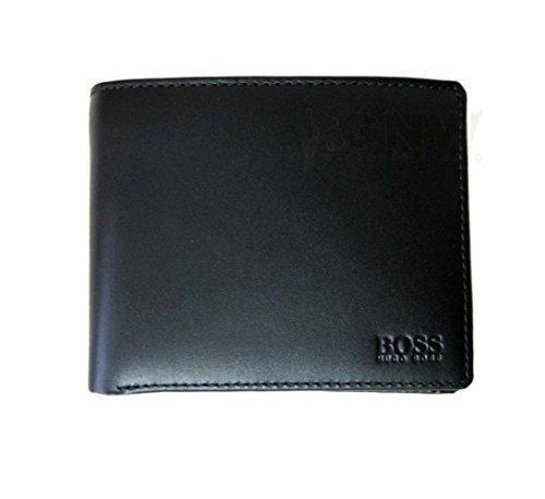 Preisvergleich Produktbild Hugo Boss - Portefeuille Porte-Monnaie Homme Cuir Vachette Ascolo-X - Noir, Taille unique