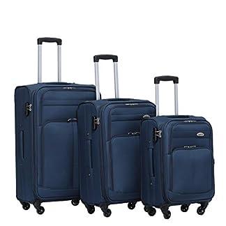 BEIBYE Colores Plástico maletín Equipaje 4Ruedas 8005Viaje Maleta Equipaje Set