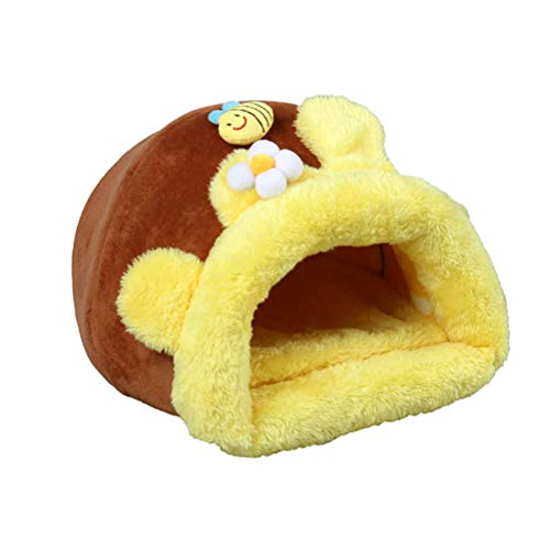 Balacoo Hamster Haus bienennest warm halten verteidigen kalt haustiernest Bett für meerschweinchen eichhörnchen Kleintier größe m