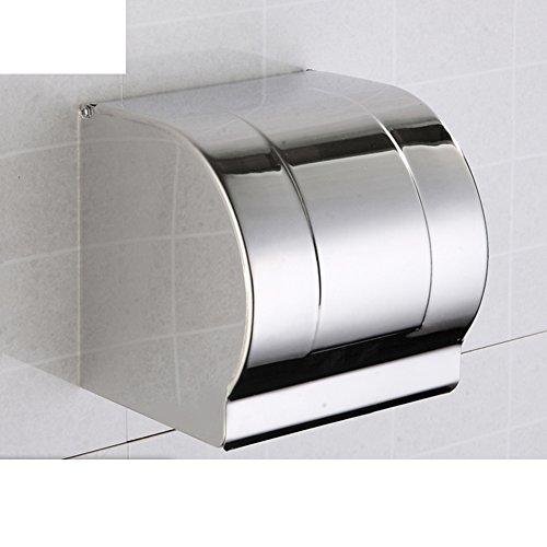 HCP Edelstahl-Toilettenpapier-Box/Toilettenpapierhalter/Wickler/Geschlossen Handtuchhalter-A