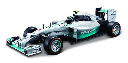 Preisvergleich Produktbild Maisto 81082 - Fahrzeug - 1:24 R/C Formel 1 Mercedes, Rosberg, silber