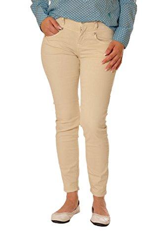 ATT Damen Jeans Zoe Cropped 11992v-3279 (40, 823 creme) (Die Dame In Der Att)