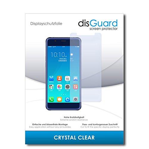 disGuard® Bildschirmschutzfolie [Crystal Clear] kompatibel mit Hisense A2 Pro [4 Stück] Kristallklar, Transparent, Unsichtbar, Extrem Kratzfest, Anti-Fingerabdruck - Panzerglas Folie, Schutzfolie