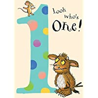 "The Gruffalo GR001""Age 1"" Birthday Card"