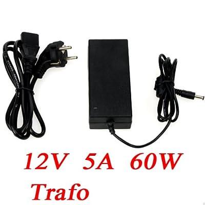 12V 5A 60W Netzteil AC Adapter Trafo für LED SMD RGB Strips von longskft auf Lampenhans.de