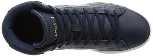 Lacoste Carnaby Evo Mid G316 1, Sneakers basses femme Blau (NVY/NVY 95K)