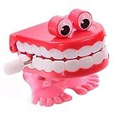 Puckator Lustige Zähne Zum Aufziehen Wind up Figur 2 Modelle zur Auswahl, Mund:Mund & Augen