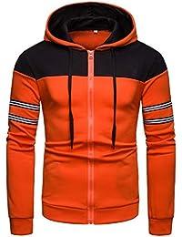 352726c8cb15a6 Suchergebnis auf Amazon.de für  leather jackets - Orange   Herren ...