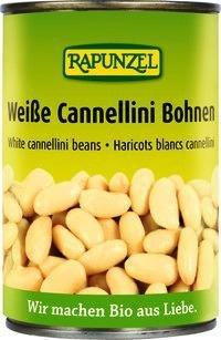 Rapunzel Weiße Bio Cannellini Bohnen in der Dose, 4er Pack (4 x 400g) – BIO