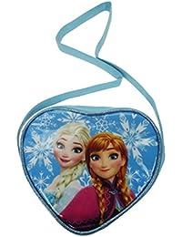 Disney Frozen Cross Body Bag Porte-monnaie, 18 cm, Bleu (Pale Blue)