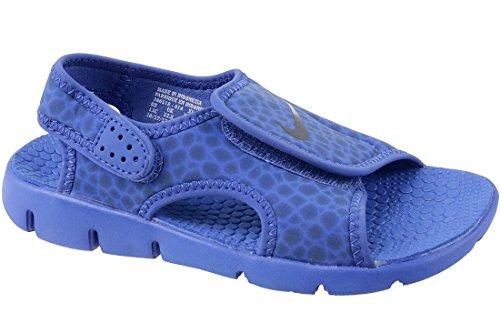 low priced 64ae1 e18ae Nike Kindersandale Sunray Adjust 4, Sandalia con Pulsera Unisex Niños, Azul  (Game Royal