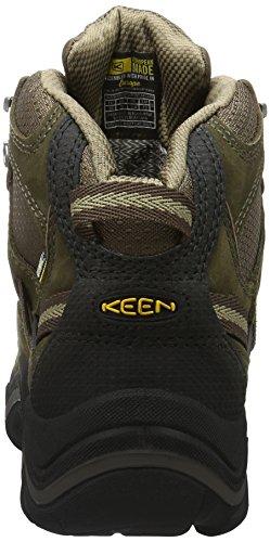 Keen Durand Mid, Chaussures de Randonnée Hautes Femme Marron (Cascade Brown/Shitake)