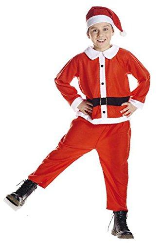 AEC Generico–Costume per bambini Babbo Natale