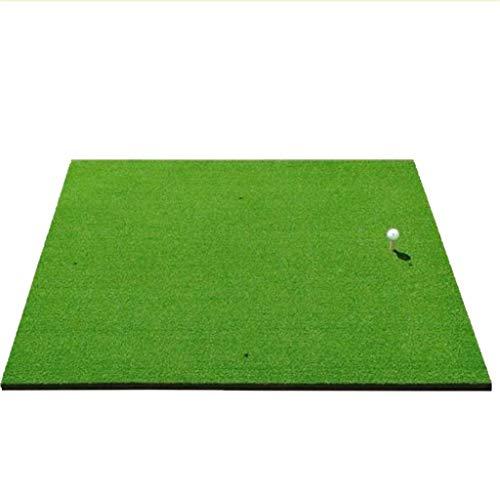 Academy Golf Übungsmatte (100cm X125cm) - Üben Wie Die Profis Mit Der Aufrollbaren, Tragbaren Abschlagmatte Mit Kunstrasen -