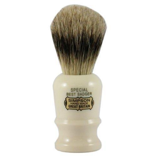 simpsons-speciale-per-peli-di-tasso-pennello-da-barba-con-manico-colore-avorio