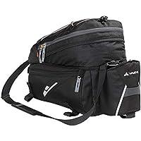 VAUDE Radtasche Silkroad L, Gepäckträgertasche, schwarz, 21x17x31cm, 8+3l
