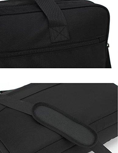 Umhängetasche Der Laptop-Beutelmänner Black