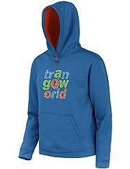 Trango Atran - Sudadera para hombre, color azul/naranja oscuro, talla L